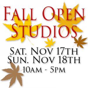 Fall Open Studios Graphic - 2018