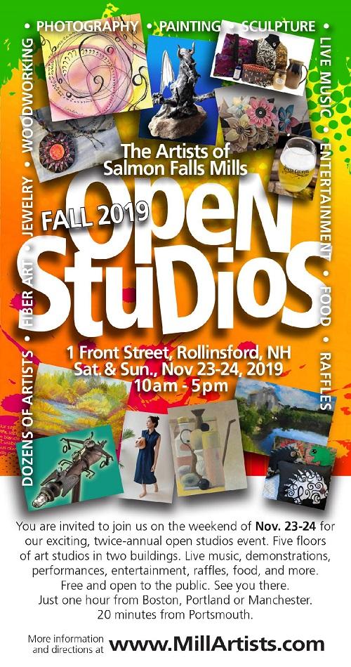 Open studios postcard - smaller